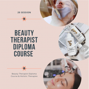 Prepayment for 20 session – Beauty Therapist Diploma Course & Holistic Therapies